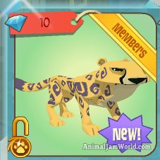 Cheetahs Come To Jamaa! animal-jam-cheetah-2  #AnimalJam #Cheetahs #News http://www.animaljamworld.com/cheetahs-come-to-jamaa/