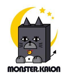 MONSTER.KALON • character • cat • monster • Illust • design • cute • animal • unique • meow • kitty cat