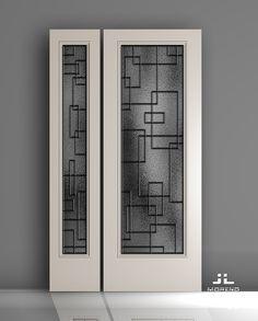 Window Grill Design Modern, Grill Door Design, Door Gate Design, Door Design Interior, Window Design, Interior Design Living Room, Wrought Iron Window Boxes, Space Saving Doors, Unique House Design