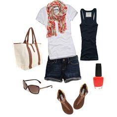 Summer outfit! Steve Madden  sandals