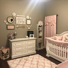 This is a beautiful, well achieved color scheme. Love it.  In my next post in my blog I will tell you all about how to accomplish a great color palette like this one and much more about decorating a Nursery. youdecorator.wordpress.com Baby Girl Nursery Decor, Nursery Ideas, Baby Room Decor, Nursery Inspiration, Room Ideas, Baby Bedroom, Nursery Room, Girls Bedroom, Bedrooms