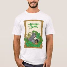 Shop The Jungle Book - Mowgli and Baloo T-Shirt created by TheJungleBook. Personalize it with photos & text or purchase as is!