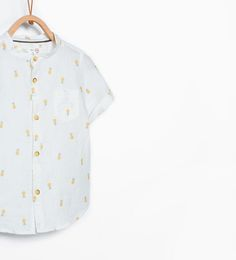 Pineapple print shirt-Tops-Baby boy-KIDS-SALE | ZARA United States