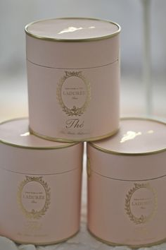 Marie Antoinette Tea From Laduree Paris...Pink