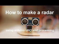 Low tech radar using Arduino and Processing - Hackalizer