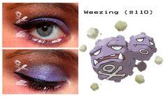 Weezing inspired make up Pokemon Makeup, Pokemon Halloween, Body Modifications, Make Up, Lipstick, Inspired, Beauty, Body Mods, Lipsticks