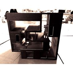 Double House's model for a project in architecture. It was studied as a reference house.