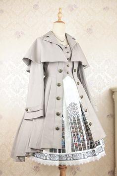 Ideas dress vintage haute couture for 2019 Vintage Dresses, Vintage Outfits, Vintage Fashion, Kawaii Fashion, Cute Fashion, Fashion Ideas, Style Fashion, Rock Fashion, Gothic Lolita Fashion
