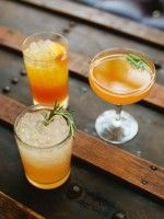"Shake It Up: 3 Delicious Summer Cocktails From A Local Mastermind #refinery29  http://www.refinery29.com/48296#slide-6  Sunday Punch ""As the name implies, this is the ideal cocktail for winding down the weekend. The tart grapefruit and musty, savory notes from the rosemary compliment each perfectly...just like a Sunday afternoon and a mellow vodka cocktail.""  1 oz Vodka 1/2 oz Rosemary Simple Syrup 1/2 oz Grapefruit Juice Rosemary Sprig Garnish ..."