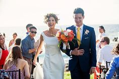 Colorful outdoor wedding on Maui, Hawaii by Bliss - Caprice Nicole Photography