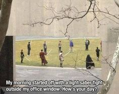 Funny pictures about That's A Great Way To Start Your Day. Oh, and cool pics about That's A Great Way To Start Your Day. Also, That's A Great Way To Start Your Day photos. Fermi Paradox, Star Wars Humor, Clone Wars, Far Away, The Funny, Star Trek, Scary, Funny Memes, Hilarious
