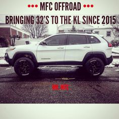 We were the first to introduce tires to this platform. We're extremely humbled that we opened the door to for every owner this option! Jeep Trailhawk, Jeep Cherokee Trailhawk, Lifted Jeep Cherokee, Jeep Grand Cherokee, Jeep Cherokee Accessories, Badass Jeep, Black Jeep, Bug Out Vehicle, Cars