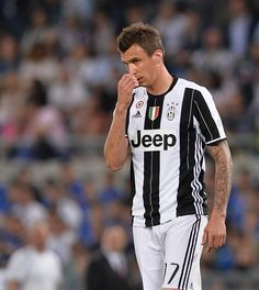Mario Mandzukic during the Tim Cup Final football match FC Juventus vs AC Milan at the Olympic Stadium in Rome on May 21 2016