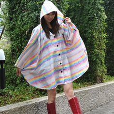 HUS. Rain poncho ハス レインポンチョ
