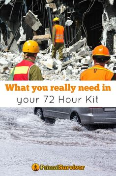 The first 72 hours after a disaster hits are the most critical. The decisions you make during this time can determine whether you survive or not, and also how comfortable you will be while waiting out the worst. Since local authorities are often overwhelmed in the immediate aftermath of a disaster, expect to be self-sufficient for at least 72 hours. Read what you really need in your 72 Hour Kit for Disaster Preparedness.