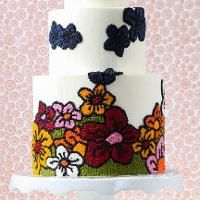 Floral Dot Cake by Valeri Valeriano and Christina Ong
