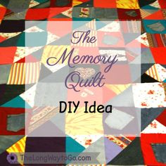 memory quilt with children's clothes - this is exactly what I'm ... : quilts made from loved ones clothing - Adamdwight.com