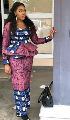 Latest Collection of Ankara Skirt and Blouse 2019 Source by . Read more The post Latest Collection of Ankara Skirt and Blouse 2019 appeared first on How To Be Trendy. African Print Dress Designs, African Print Dresses, African Print Fashion, Latest African Fashion Dresses, African Dresses For Women, African Attire, Ankara Fashion, Modern African Dresses, Ankara Styles For Women