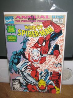 WEB OF SPIDER-MAN ANNUAL #7, VENOM, HOBGOBLIN, AMAZING SPIDER-MAN MARVEL COMICS