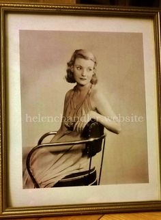 My collection. Helen Chandler, 1930s, Photograph, The Originals, Studio, Frame, Collection, Home Decor, Photography