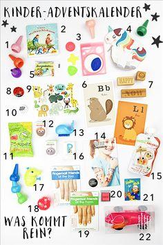 Adventskalender Füllung für Kinder Was kommt rein? | Pinkepank