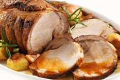 This recipe for Slow Cooker Pork Roast with Apples is always yummy - the apples and juice add a great flavor. Serve over homemade mashed potatoes. Crock Pot Recipes, Crock Pot Cooking, Pork Recipes, Slow Cooker Recipes, Cooking Recipes, Copycat Recipes, Batch Cooking, Easy Cooking, Recipies