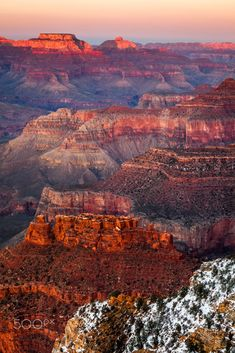 Grand Canyon Dusk by Glowing Earth Photography on 500px