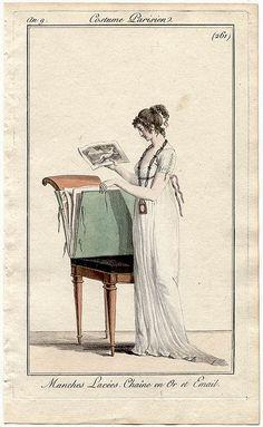 Costume Parisien, an 9 (1800)