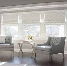 Custom-made cordless roman shade in gray ogee fabric by one of the top seamstresses in Charleston, SC. Please leave the following details in the comment section when checking out: -Cordless or draw cord shade mechanism -Measurements. Please see 2nd photo for instructions -Inside or outside mount -Blackout lining?  All raw edges are serged and sides blind-stitched  Looking for pillows, cushion covers, drapes, valances or other? We do custom work---just message us! kate SPF
