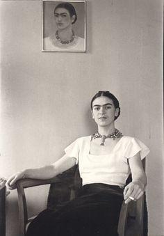 Frida Kahlo at the Barbizon Plaza Hotel, New York City, 1931