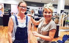 Grosses Styling: Jeannette Brunner, die Gewinnerin unseres Wettbewerbs, strahlt!   Emmen Center