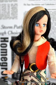 Boneca Susi cabelo com Mecha 1972