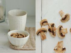 Madame Gateau: Velouté de champignons et laine d'alpaga