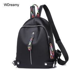 72cc18a0686e 2018 Casual Backpack Women Black Oxford School Bags for Teenagers Girls  Waterproof Nylon High Quality Travel Backpack Female From Touchy Style  Outfit ...