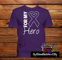 For My Hero Shirts For Lupus Awareness, Chiari Malformation, Cystic Fibrosis, Crohn's Disease, Alzheimer's Disease and More