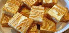 Skinny Pumpkin Cream Cheese Bars