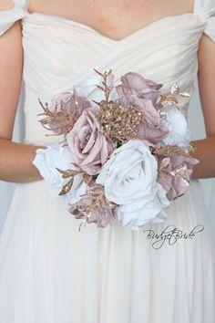 Cream Wedding Colors, Grey Wedding Decor, Purple And Gold Wedding, Wedding Color Pallet, Rose Gold Theme, Gold Wedding Theme, Dusty Rose Wedding, Gold Wedding Decorations, Dream Wedding