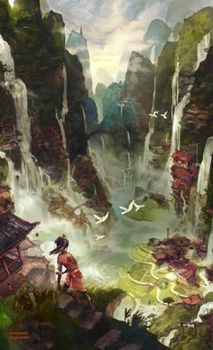 World of Reverie // Kingdom of Archaea // Kingdom of Primordia