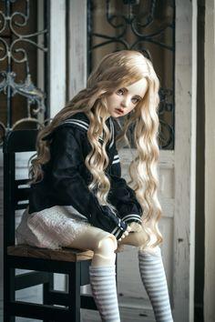 Wigs for BJD Dolls - BJD Accessories, Dolls - Alice's Collections Source by elizolette Enchanted Doll, Cute Baby Dolls, Kawaii Doll, Realistic Dolls, Smart Doll, Anime Dolls, Creepy Dolls, Ooak Dolls, Custom Dolls