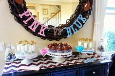 Southern Belle of the West: Our Gender Reveal Party... It's a BOY! #football #gender #reveal #party