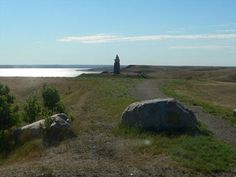 Grave Site atop the Missouri River (in South Dakota) buttes of the Famous Native American Chief Sitting Bull (Tatanka Iyotake).
