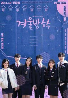 SINOPSIS Drama Winter Vacation - Adalah serial web drama Korea terbaru 2020 dan ini adalah kisah roman remaja sekolahan dan lika-liku kehidupan