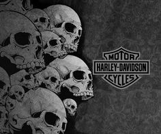 Harley-Davidson Wallpapers and Screensavers | Skulls Harley Davidson Android Forums At Androidcentral Wallpaper with ...