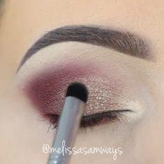 Press play  Mini tutorial of previous post by @melissasamways @melissasamways @melissasamways ❤️❤️❤️ #amazing #auroramakeup #anastasiabeverlyhills #beauty #beautiful #bridal  #eyes #fashion  #girls #glitter #instamood #instalove #modt #makeup #maquiagem #mua #maquillage #maccosmetics #motivecosmetics  #pretty #stunning #sugarpill #urbandecay #universodamaquiagem #universodamaquiagem_oficial #vegas_nay #vegasnay #makeupaddict #wedding #videomakeup