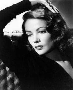 Gene Tierney. Acclaimed as one of the great beauties of her day. By 1953, Tierney's mental health problems were becoming harder for her to hide; she dropped out of Mogambo and was replaced by Grace Kelly. She suffered a life of mental illness and the tragic loss of her Daughter having contracted rubella while pregnant. She died in 1991 of emphysema aged 70.