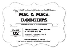 PURE LOVE INVITATIONS | Black and White Wedding Ideas | Diecut Wedding Invitations | Paper Muse Press