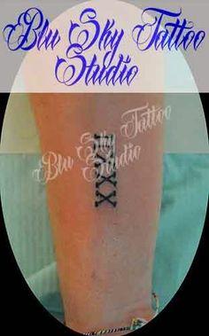 Blu Sky Tattoo Studio: Lettering 68