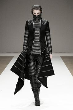 What a servant of the House of Black & White would wear, Shinsuke Mitsuoka
