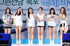 #rainbow #kpop #woori #go #orange #oh #seunga #indigo #kim #jaekyung #red #noeul #blue #jung #yoonhye #purple #kim #jisook #green #cho #hyunyoung #yellow
