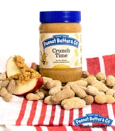 An Apple A Day with Peanut Butter #tasteamazing